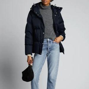 NWT Rag & bone navy Leonard puffer jacket